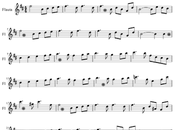 Lago Cisnes Tchaikovski Partitura fácil para Flauta principiantes