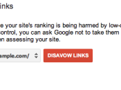 Disavow Links Tool Herramienta desautorizacion enlaces Google