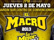 Macro Grupos participaran Cartelera mayo 2013 Acapulco Mejor