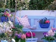 Ideas para organizar balcon