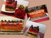 Pastel fresones chocolate lactosa, Feliz cumpleaños Sant Jordi