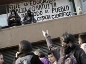 """Teatro """"los encapuchados"""" toma torre Rectoría UNAM"""