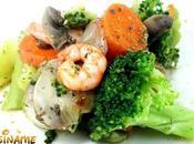 Verduras Salteadas Receta verduras gambas