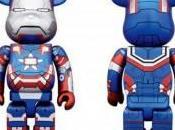 Figura Bearbrick Iron Patriot