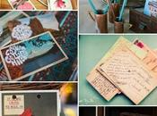 Decorando postales vintage/Decorate with vintage postcards