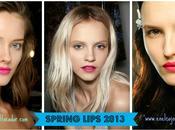 Tendencias Maquillaje Primavera 2013: Labios Frambuesa