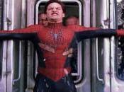 telaraña Spiderman podría parar tren marcha