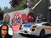 Ángeles pide Chris Brown borre graffitis casa