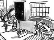 propósito viñeta Yorker: simulacros familias sociedades