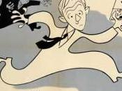 feliz inconsciencia: hombre traje blanco. Alexander Mackendrick, cartoonista
