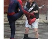 imágenes Spidey contra Rhino Amazing Spider-Man