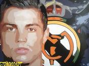 "Trabajo finalizado ""Cristiano Ronaldo"" para Cafetería Hollywood."