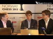 Precalentamiento Mundial: 'deseado' Magnus Carlsen Norway Chess 2013 (VII)