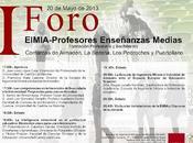 Primer Foro Escuela Ingeniería Almadén Profesores Enseñanzas Medias