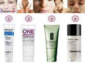 Exfoliando piel rostro