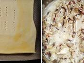 cocinar juntos hojaldre champiñones jamón ibérico