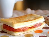 Sandwich jamonilla frita