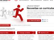 currículum: papel web. online