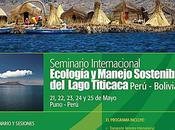 Seminario Internacional: Ecología manejo sostenible Lago Titicaca, Perú Bolivia. Universidad Tecnológica Boliviana Nacional Altiplano,