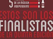 Premios Música Independiente 2013: Finalistas