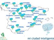 smart cities mueven España: Ciudad Inteligente