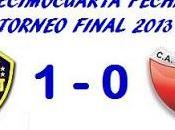 Boca Juniors:1 Colón:0 (Fecha 14°)