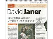 David Janer, tema portada