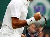 Wimbledon: Federer casi Falla suerte