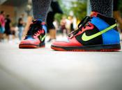 Sónar 2010 Carolina colorida Nike Dunk
