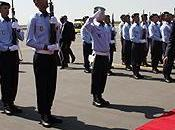 presidente ruandés llega Marrakech