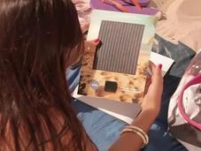 anuncio Nivea recarga móvil energía solar