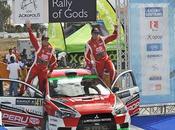 Triunfo peruano. nicolás fuchs ganó rally grecia afianza como lider categoría autos producción
