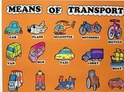 Medios transporte inglés