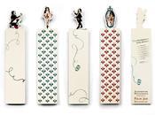 Arte literario: clásicos marcapáginas juego