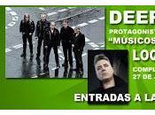 Músicos Naturaleza 2013: Deep Purple, Loquillo Bebe julio Gredos