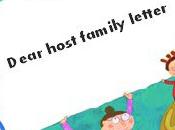 Carta para Host Family