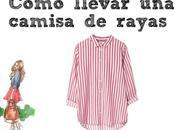 Como llevar camisa rayas