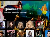 Quaver: dedica canciones redes sociales