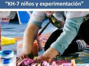 niños experimentación