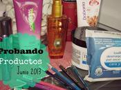 Productos estoy probando Junio 2013 Novedades