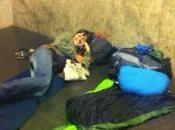 Durmiendo aeropuerto