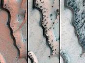 Trozos hielo seco provocaron surcos dunas Marte