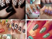 Manicura Print Animal tendencia Verano 2013