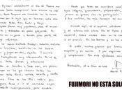 Carta alberto fujimori recordando como celebraba padre cuando libre