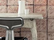 Look industrial papel pared look with wallpaper