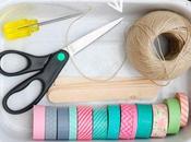 DIY: Pulseras washi tape