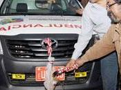 Continúa entrega ambulancias parte gore lima...