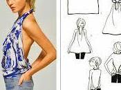 DIY: Como convertir chales/pañuelos ropa