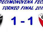 Colón:1 Independiente:1 (Fecha 19°)