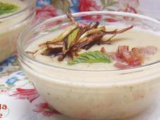 Crema fría calabacín hierbabuena